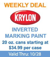 Save on Krylon Inverted Marking Paint!